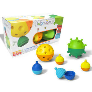 Lalaboom Sensory Balls and Educational Beads 10m+
