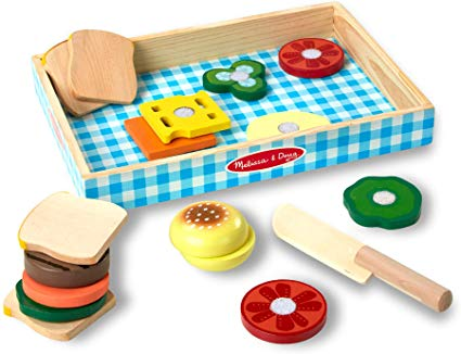 Wooden Sandwich Making Play Set - CR Toys
