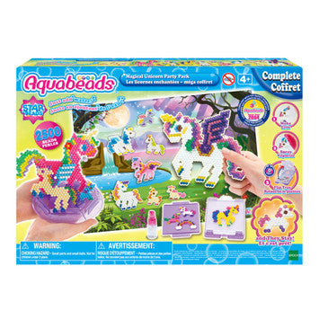 Aquabeads Magical Unicorns Party Pack - Ages 4+