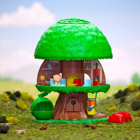 Timber Tots Tree House - CR Toys