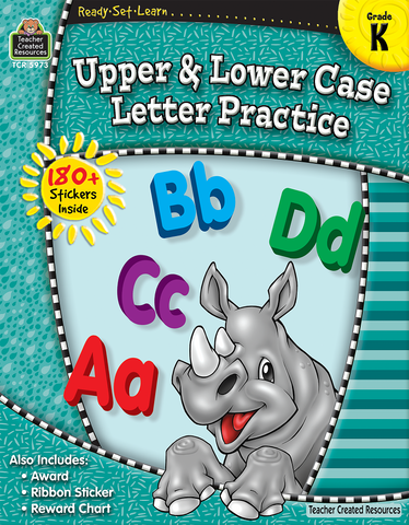 Teacher Created Resources: Kindergarten Upper & Lower Case Letter Practice