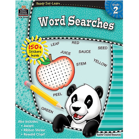 Teacher Created Resources: 2nd Grade Word Searches