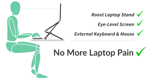 No More Laptop Pain - Perfect Laptop Ergonomics