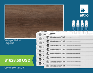 Altro Lavencia LVT Vintage Walnut large kit