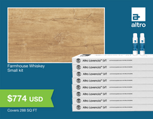 Load image into Gallery viewer, Altro Lavencia LVT Farmhouse Whiskey small kit