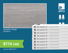 Load image into Gallery viewer, Altro Lavencia LVT Hampton Greige small kit