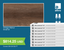 Load image into Gallery viewer, Altro Lavencia LVT Vintage Walnut small kit