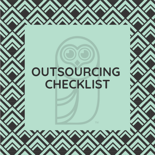Outsourcing Checklist