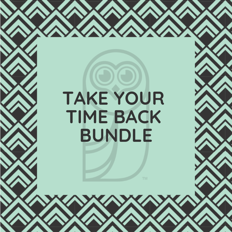 Take Your Time Back Bundle