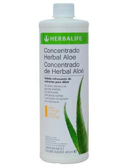 Concentrado Herbal Aloe Mango 473 ml
