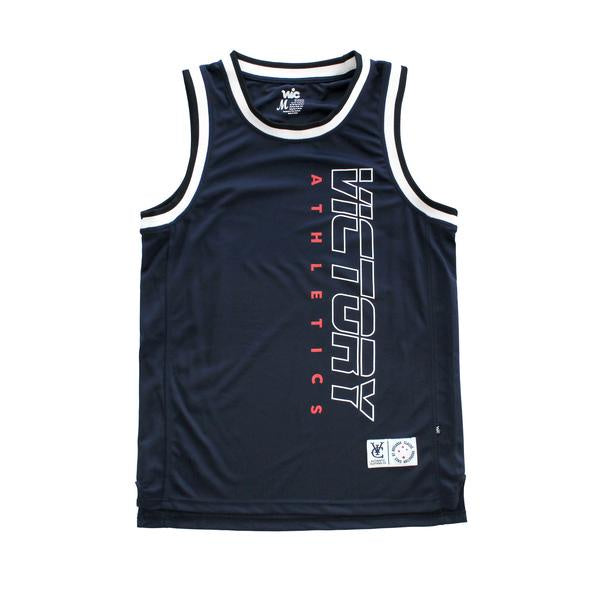 VIC Athletic Basketball Jersey / Navy