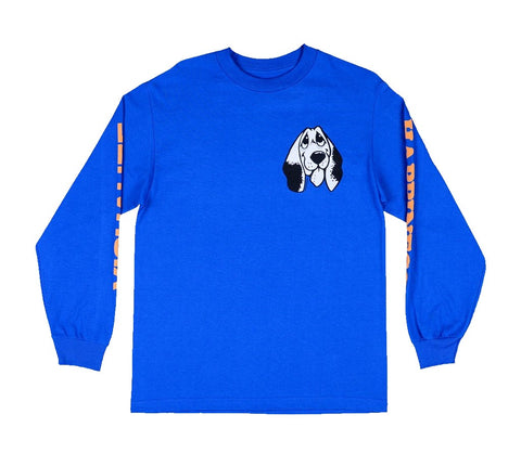 Quasi Happiness L/S Tee / Royal Blue