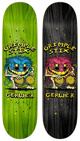 Anti Hero Grimple Stix  Grewer Pro Family Band Deck 8""