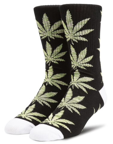 Huf Plantlife Melange Socks / Black