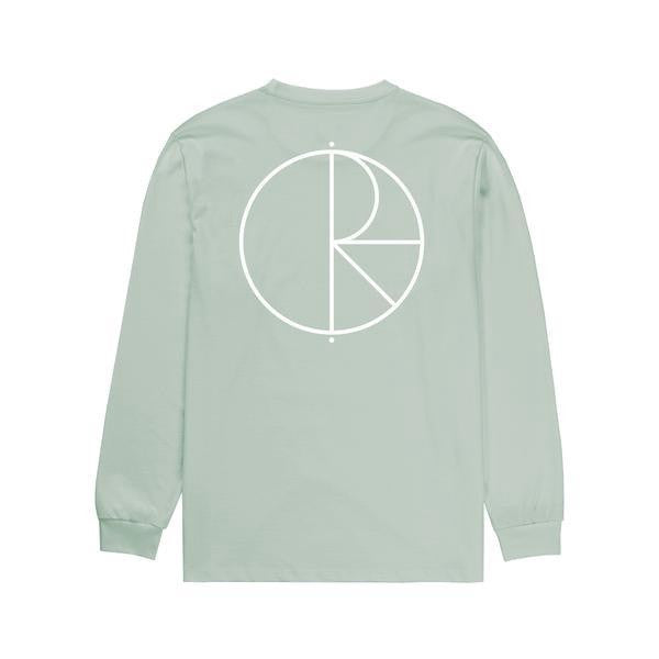 Polar Stroke Logo Long Sleeve Tee / Seafoam Green