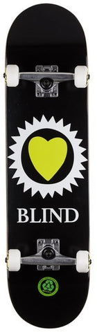 Blind Black Heart Complete Skateboard 8""