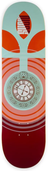 Habitat Suciu Clock Red Deck 8.375""