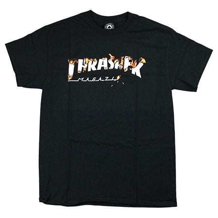 Thrasher Intro Burner Tee / Black