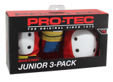 Pro-Tec Street Gear Jr 3 Pack Pad Set / Retro
