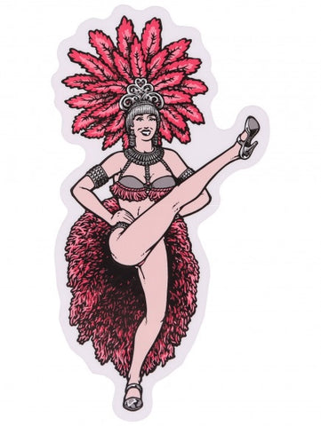 Blind Lotti Showgirls Sticker