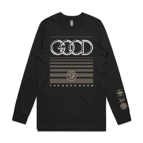 TGR Audi Long Sleeve Tee / Black