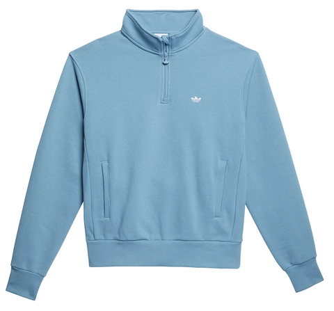 Adidas Shmoo 1/4 Zip hazy / Blue / White