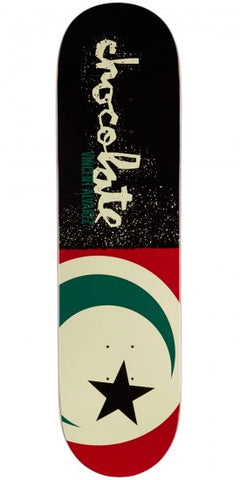 Chocolate Alvarez Giant Flag Deck 8.25""