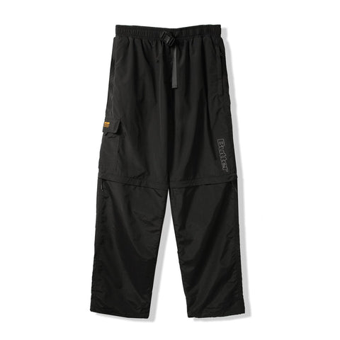 Butter Goods ATS Zip off Pants / Black