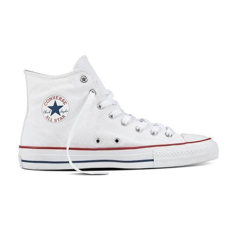 CONS CTAS Pro Hi / White Canvas / Red