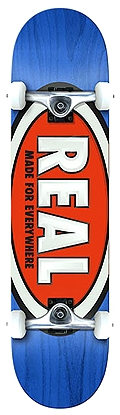 Real Classic Oval Complete Skateboard 7.75""
