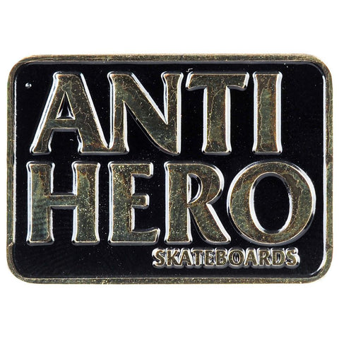 Antihero Black Hero Pin
