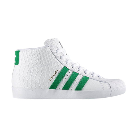 Adidas Tyshawn Pro Model Vulc ADV / White / Green