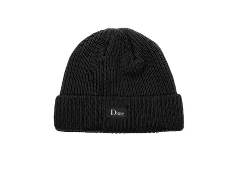Dime Heavyweight Beanie / Black