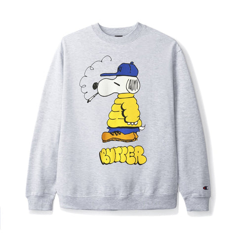 Butter Goods Lo Goose Champion Crewneck  / Silver Grey