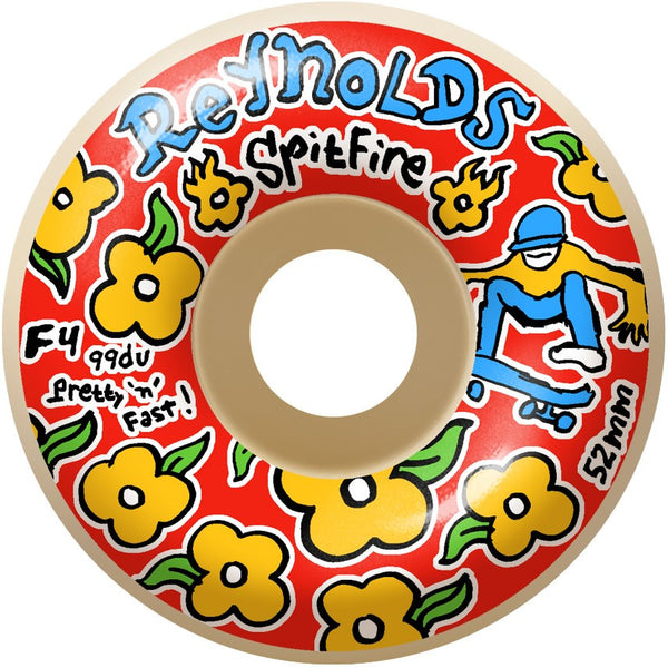 Spitfire F4 Reynolds Pro Gonz Wheels 52mm