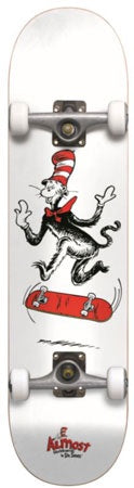 Almost x Dr. Seuss Cat Tre Youth Premium Complete Skateboard 7.375""