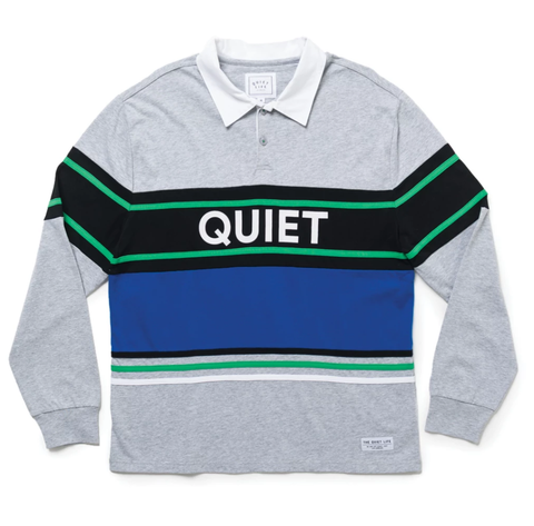 The Quiet Life Classic Polo / Heather Grey