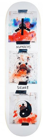 Number Edition 5 Miles Silvas Deck 8.3""