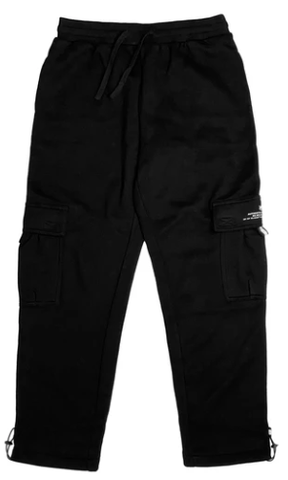 Vic Cargo Sweat Pants / Black