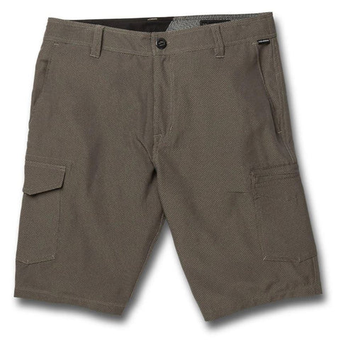Volcom SNT Dry Cargo Shorts / Dark Charcoal