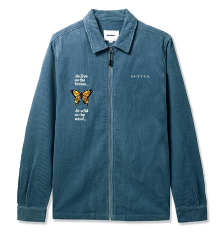 Buttergoods Butterfly L/S Work Jacket / Stone Blue