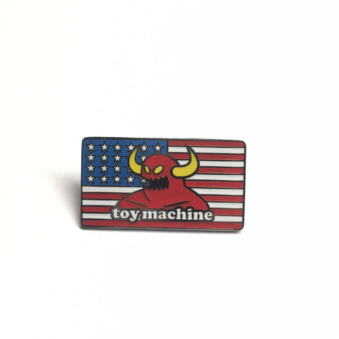 Toy Machine American Monster Pin