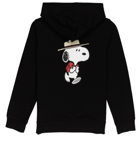 Element x Peanuts Trekking Flag Youth Hoodie / Black