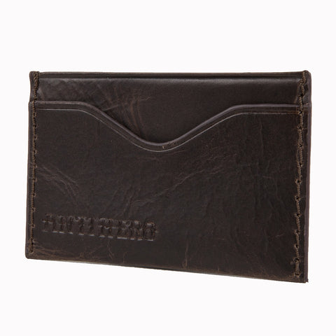 Antihero Wallet Card Holder / Brown Leather