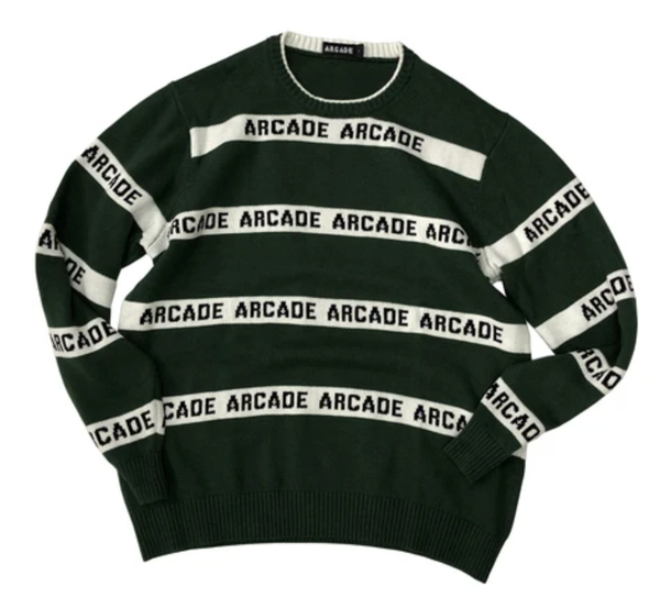 Arcade Stripe Knit Sweater