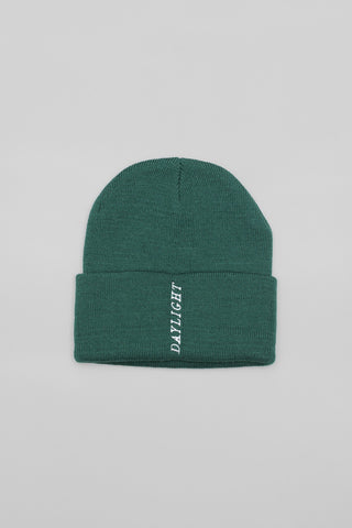 Daylight Straight Up Beanie / Forest Green
