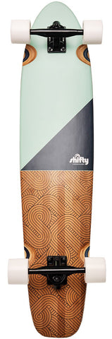Shifty Corners Teal Longboard 40""