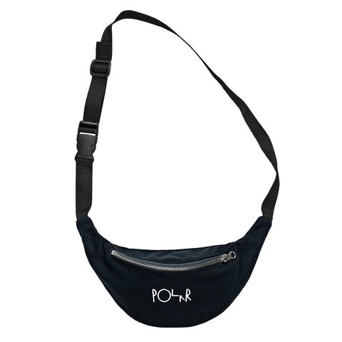 Polar Script Logo Hip Bag / Black