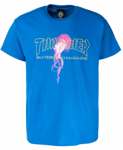 Thrasher Atlantic Drift Tee / Royal