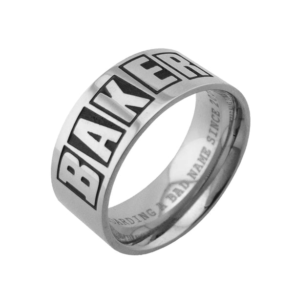 Baker Band Ring / Silver